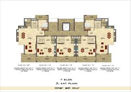 Apartment Complex Floor Plans by Aura Blue Luxury Apartment Complex In Kestel Le Moralhomes