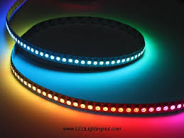 digital intelligent rgb led light 144 led m 5vdc