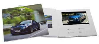 Lcd Invitation Card Quick Turnaround Video Brochures Express Tv In A Card Fast
