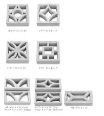 15 panies that sell decorative concrete screen blocks
