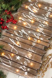 make your own light up sign diy rustic light up christmas sign the american patriette