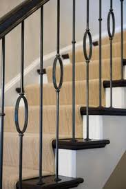 Banisters And Handrails Custom Fabricated Metal Balusters Handrail Stair Banister
