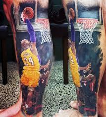 40 basketball tattoos for men masculine design ideas