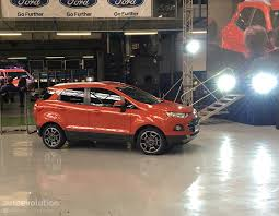 nissan juke vs ford ecosport european ford ecosport to be produced in craiova romania from