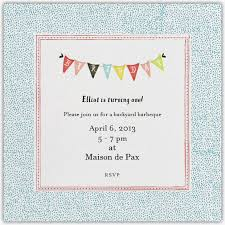Backyard Birthday Party Invitations by Backyard Barbecue First Birthday Party Maison De Pax