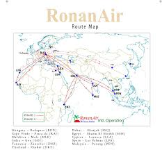Cape Air Route Map by Ronan Air Airline