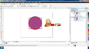 tutorial corel draw power clip how to empty an object after extracting content on powerclip in