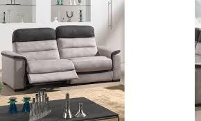 canapé relax tissus 3 places canape relaxation électrique 3 places tissu hcommehome