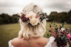 hair flowers wedding hair flowers for country bohemian brides