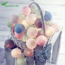 New Year Decoration For Home by Online Shop 3m 20 Led Tiffany Cotton Ball String Lights Christmas