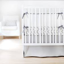 Custom Crib Bedding Sets Custom Crib Bedding Set With Gray Crib Skirt Rosenberryrooms