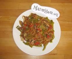 cuisiner des haricots plats haricots plats et coulis de légumes de mic recette de haricots