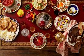how to drink and eat like a russian on new year u0027s eve bon appetit