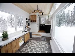 ana white u0027s open concept modern tiny house with elevator bed
