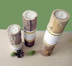 Handmade Home Decor Wood Tea Light Candle Holder Print Your Name Photos Customized
