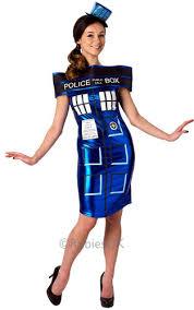 Doctor Halloween Costume Doctor Tardis Ladies Fancy Dress Sci Fi Machine Womens