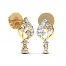 gold earrings online gold earrings online 0 50 ct certified office wear