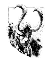 loki by phillip tan thor ragnarok marvel comics art sketch