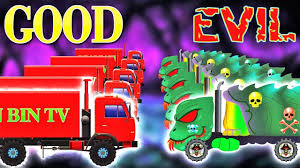 delivery truck war w good vs evil street vehicles battles for