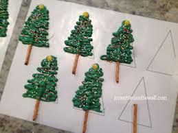 make chocolate christmas tree christmas lights decoration
