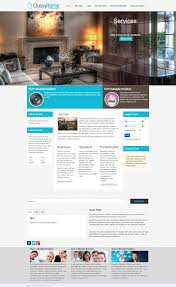 classyhome interior design free joomla template