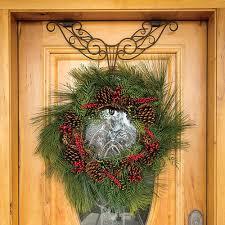 adjustable wreath hanger at brookstone buy now