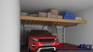 garage storage loft solutions custom overhead garage storage lofts custom garage storage loft solutions