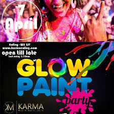 glow paint party and paint party free entry tickets for all b4 11pm tickets