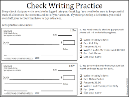 check writing practice worksheets free worksheets library