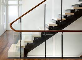 Glass Stair Banister Modern Handrails Adding Contemporary Style To Your Home U0027s Staircase