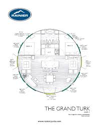 great floor plan to capture the open feel of a yurt with privacy