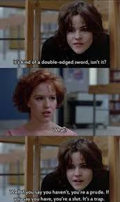 Breakfast Club Meme - the ballad of claire and allison the otp of the breakfast club