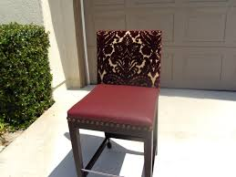 Upholster A Dining Chair by Can You Reupholster A Leather Sofa With Fabric Centerfieldbar Com