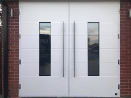 jen weld garage doors our ultra modern side hinged garage doors can also be automated