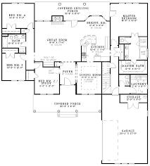 split bedroom house plans plan 59248nd cedar shake split bedroom house plan house cedar