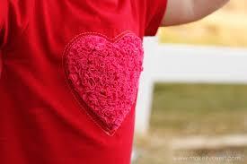 shaggy heart valentine u0027s dress with heart knee pad leggings made