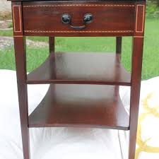 Mersman End Table Best 1951 Mahogany Mersman Side Table For Sale
