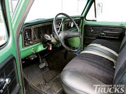 Ford F350 Truck Seats - 1973 ford f 350 build rod network