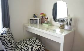 stools white desk with drawers and mirror wonderful vanity