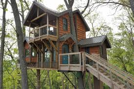 mountaintop treehouse w sunset views treehouses for rent in