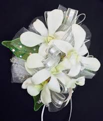 white dendrobium orchids white dendrobium orchids prom corsage swenson silacci flowers