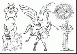 shining hercules outline hercules coloring pages to print archives