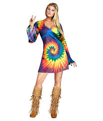 amazon women s halloween costumes amazon com fun world womens groovy gal halloween party hippie