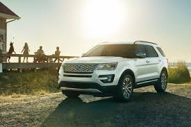 Ford Explorer 3 Rows - 2017 ford explorer suv features ford com
