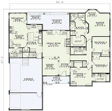 open great room floor plans open living 5933nd architectural designs house plans