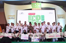 toyota company environmental competition in the 10th toyota eco youth news
