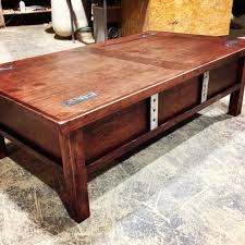 coffee table with hidden storage countertops furniture retractable