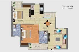 2bhk floor plan united one welfare society floor plan 2bhk dwarka smart city