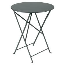 Grey Bistro Table Fermob Bistro Table 60cm Patio Balcony Outdoor