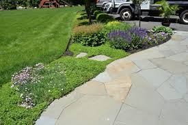 Decorative Landscaping Techo Bloc Inca Patio Patio New York With Traditional Landscaping